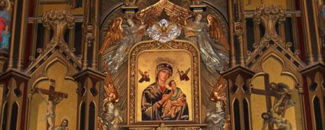 Devoción a María del Perpetuo Socorro Retablo Mayor